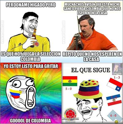 La Selección Colombia también juega en las Redes Sociales  (2/4)