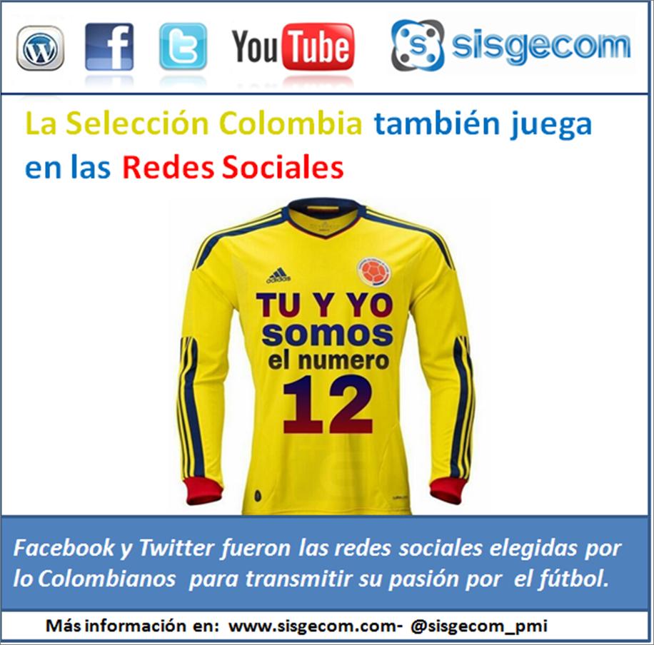 La Selección Colombia también juega en las Redes Sociales  (1/4)