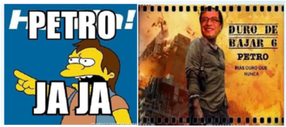 Memes sobre Gustavo Petro