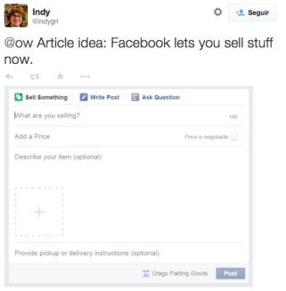 Botón Comprar en Grupos de Facebook