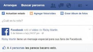 Facebook versión colombiana