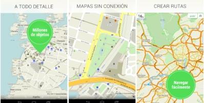 MAPS.ME — offline mapa